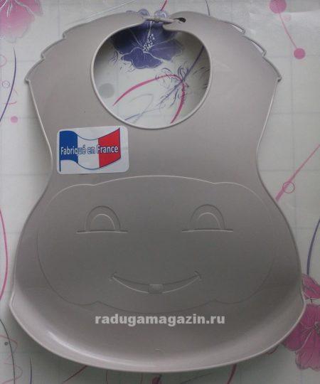 Нагрудник пластиковый с карманом