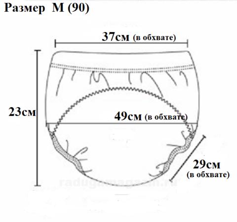 трусы для приучения к горшку описание размер 90 М