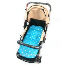 Матрас для коляски-трансформатор, 3в1, стульчиков для кормления