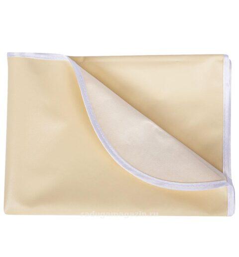 Клеенка в кроватку с резинками фиксации на матрасе