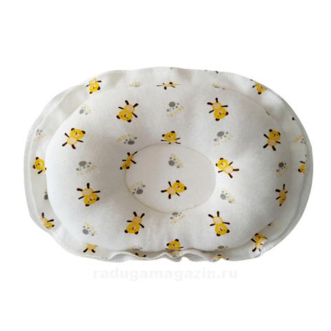 Подушка для новорожденного, Медведи желтые