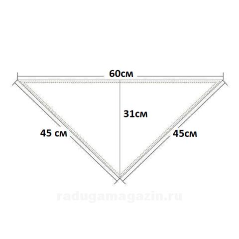 Нагрудник 60 х 45 см