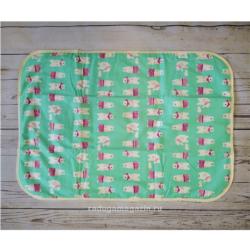 Непромокаемая пеленка 3-х слойная 50х70см, Медведи