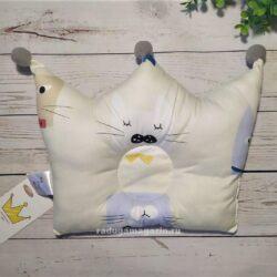 Детская ортопедическая подушка, котэ